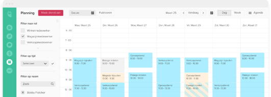 clevergig-planning-software-overzicht